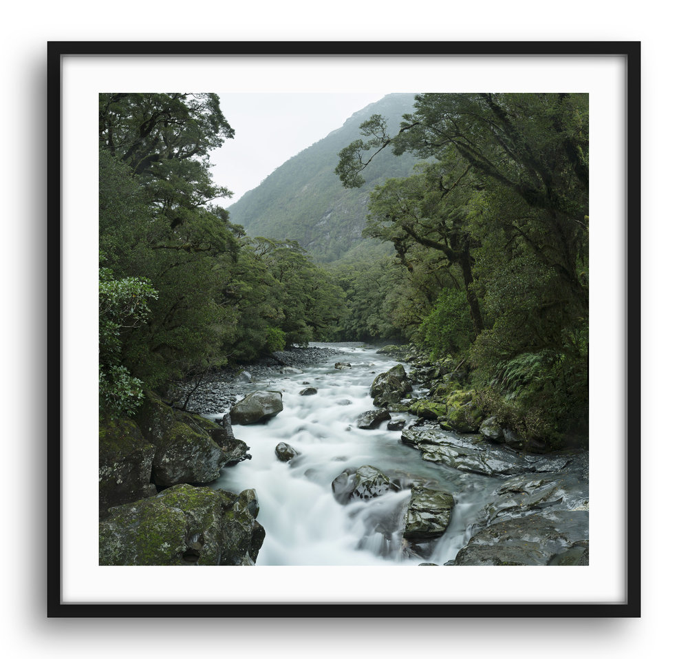 """NEW ZEALAND"" Series The South island if New Zealand is a beautiful untouched part of this world and holds a treasure trove of amazing landscapes. On two visits I have only scratched the surface but have come away with some inspiring photos. Apart from the annoying Sand Flies the place is a complete paradise and I look forward to many more visits. Framed and unframed prints are available from $285."