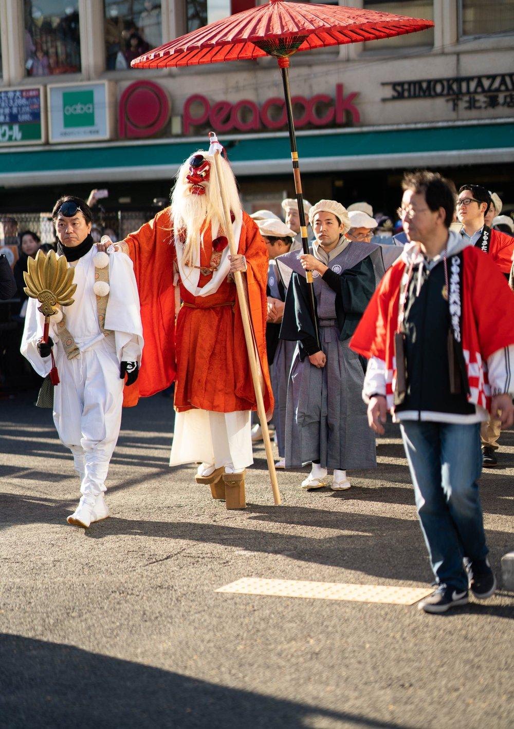 Tengu festival, Shimo Kitazawa -