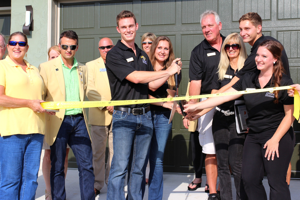 Girard Homes Old Hawthorne Model Home grand opening ribbon cutting! August, 7th 2015