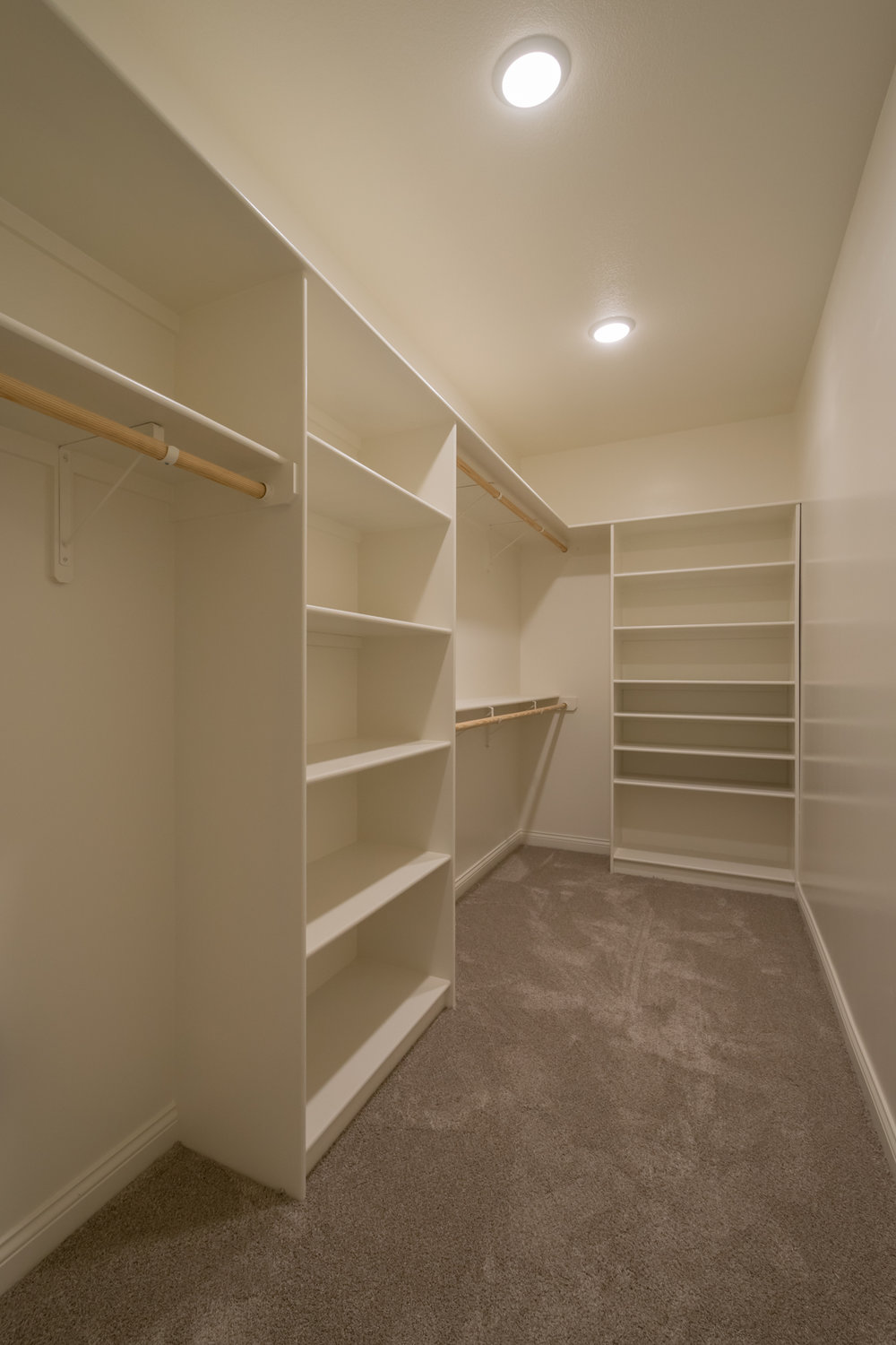 Our spacious closet at our new home for sale in The Gates community!