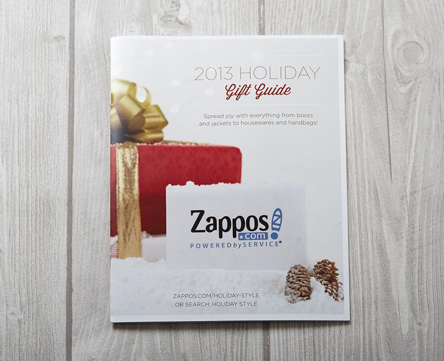 Zappos 2013 Holiday Magalog