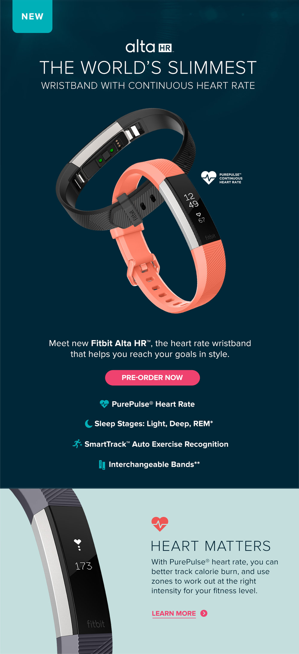 itbit Alta HR Announce - Why Heart Rate?