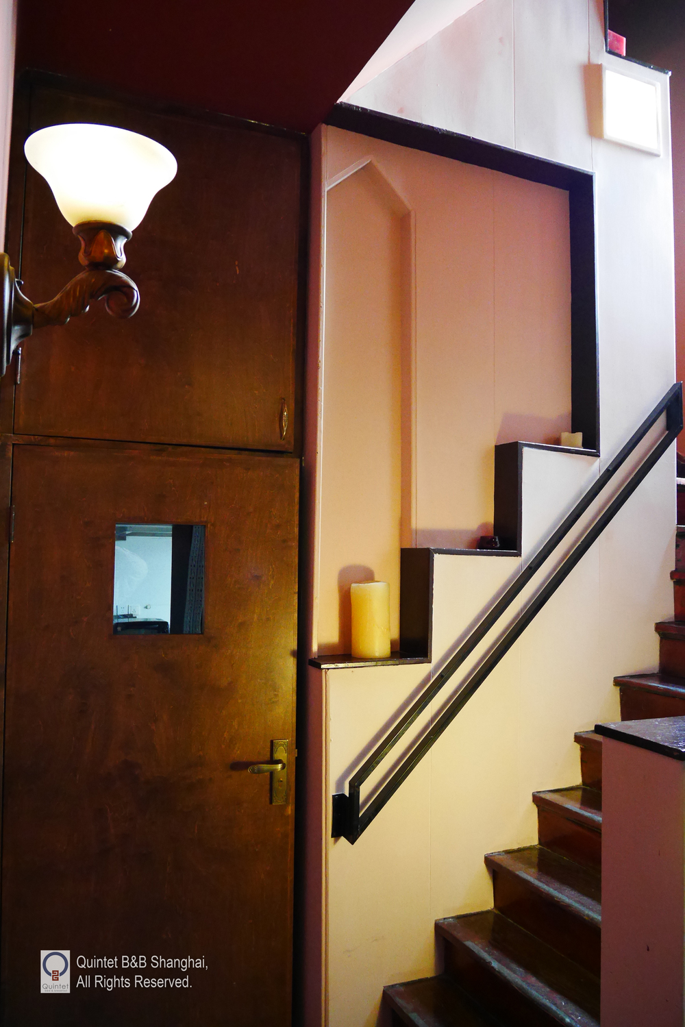 Stairs Up to Our Five Rooms