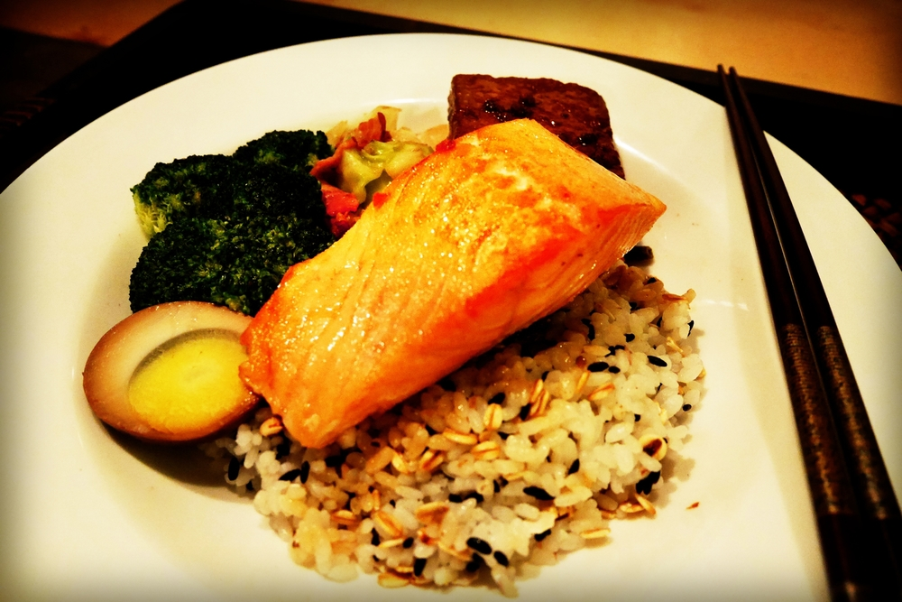 Salmon Fillet Lunch Set (65RMB)