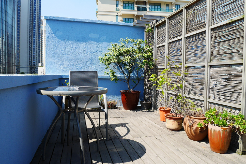 Our rooftop terrace is also another great place to relax.
