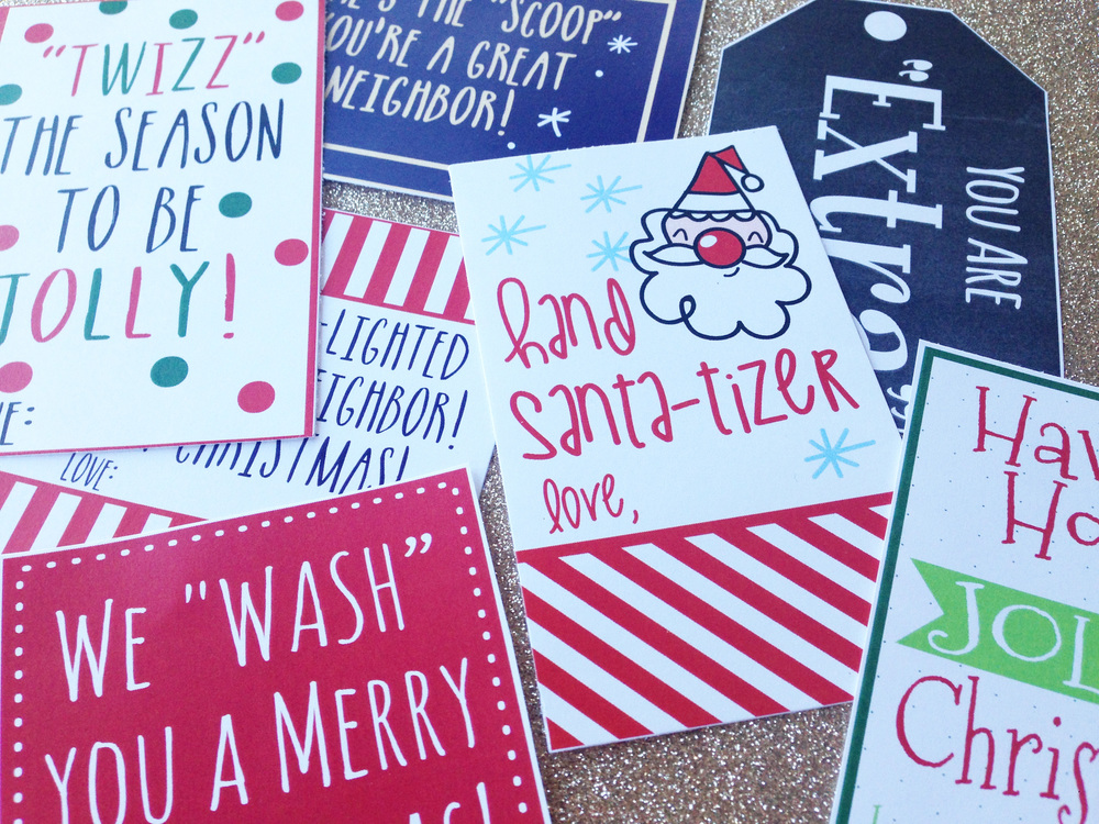 picture relating to We Wash You a Merry Christmas Free Printable known as Hadley Styles Cost-free Printables for Neighbor Xmas Items!