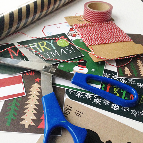 Pull out all your cute wrapping paper, ribbons, & bows, pop in your favorite Christmas movie and get to wrapping!  We have all different styles to match all your wrapping needs!
