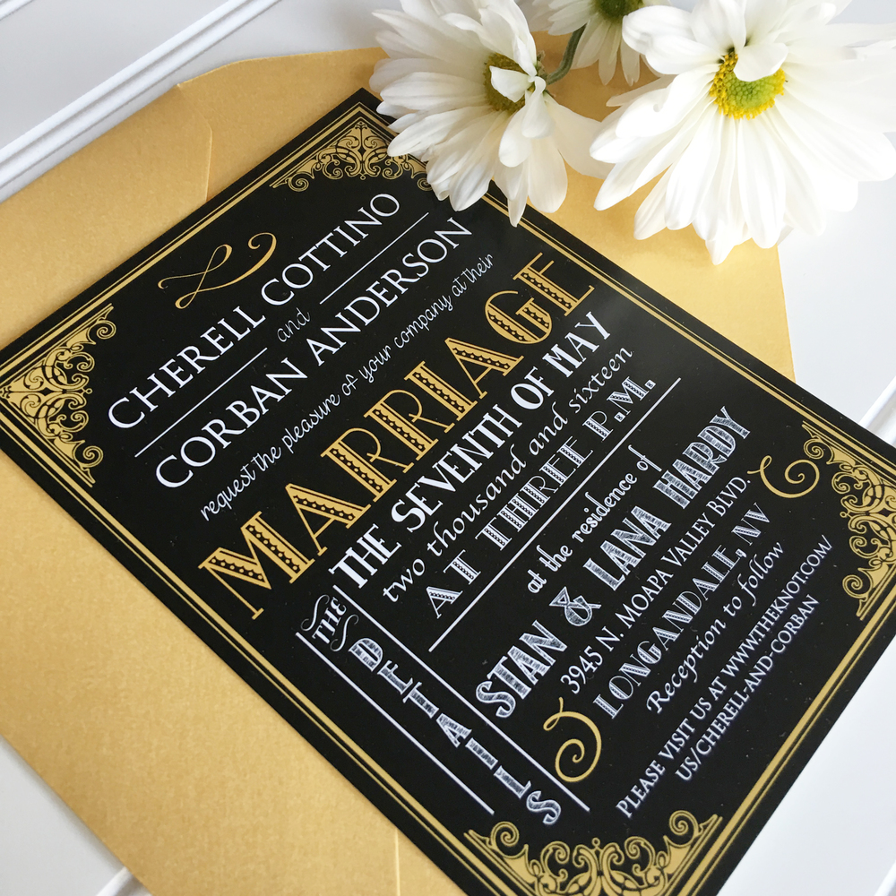 Elegant Wedding Invitations, Classic Wedding Invitations, Great Gatsby Wedding Invitations, Traditional Wedding Invitations, Unique Wedding Invitations, Black & Gold Wedding Invitations