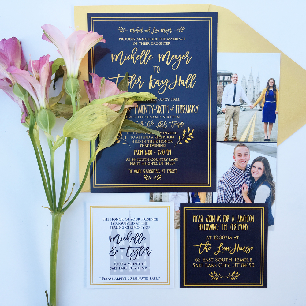 Elegant Wedding Invitations, Classic Wedding Invitations, Formal Wedding Invitations, Traditional Wedding Invitations, Unique Wedding Invitations, Custom Wedding Invitations, Navy Wedding Invitations