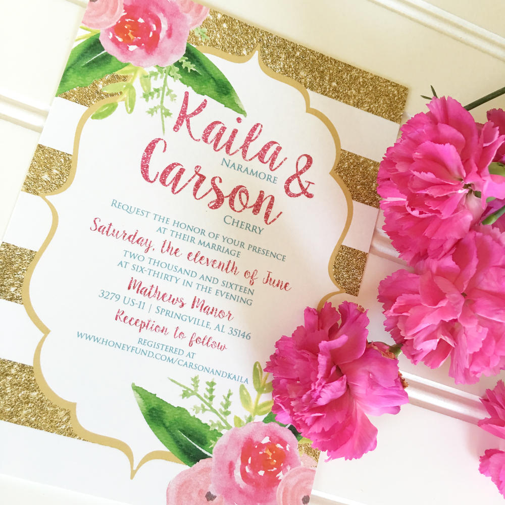 Elegant Wedding Invitations, Classic Wedding Invitations, Formal Wedding Invitations, Glitter Wedding Invitations, Unique Wedding Invitations, Custom Wedding Invitations, Pink Wedding Invitations