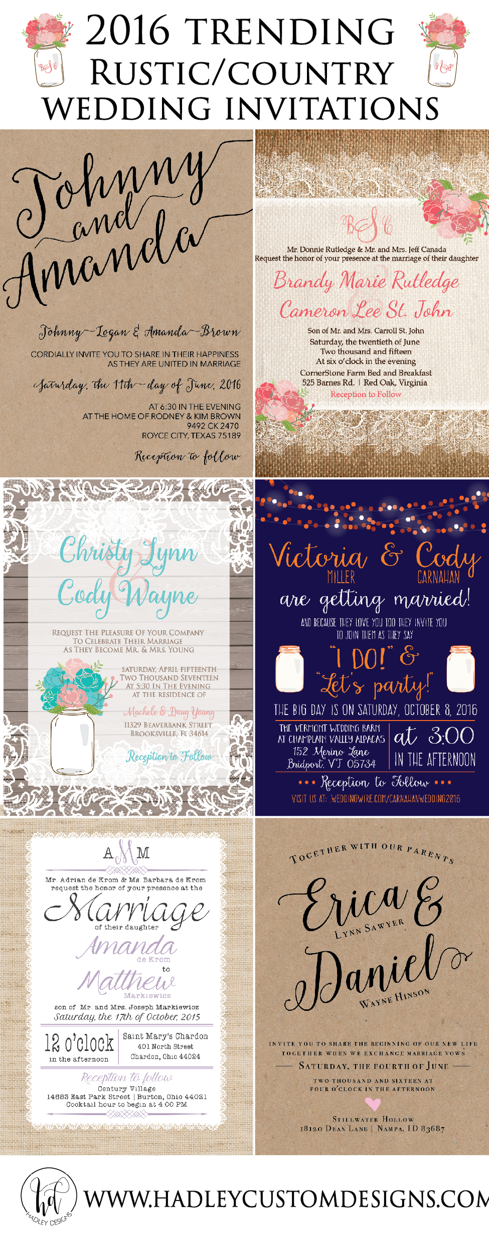 Rustic Wedding Invitations, Burlap & Lace Wedding Invitation, Country Wedding Invitation, Western Wedding Invitations, Elegant Wedding Invitation, Classic Wedding Invitation, Formal Wedding Invitation