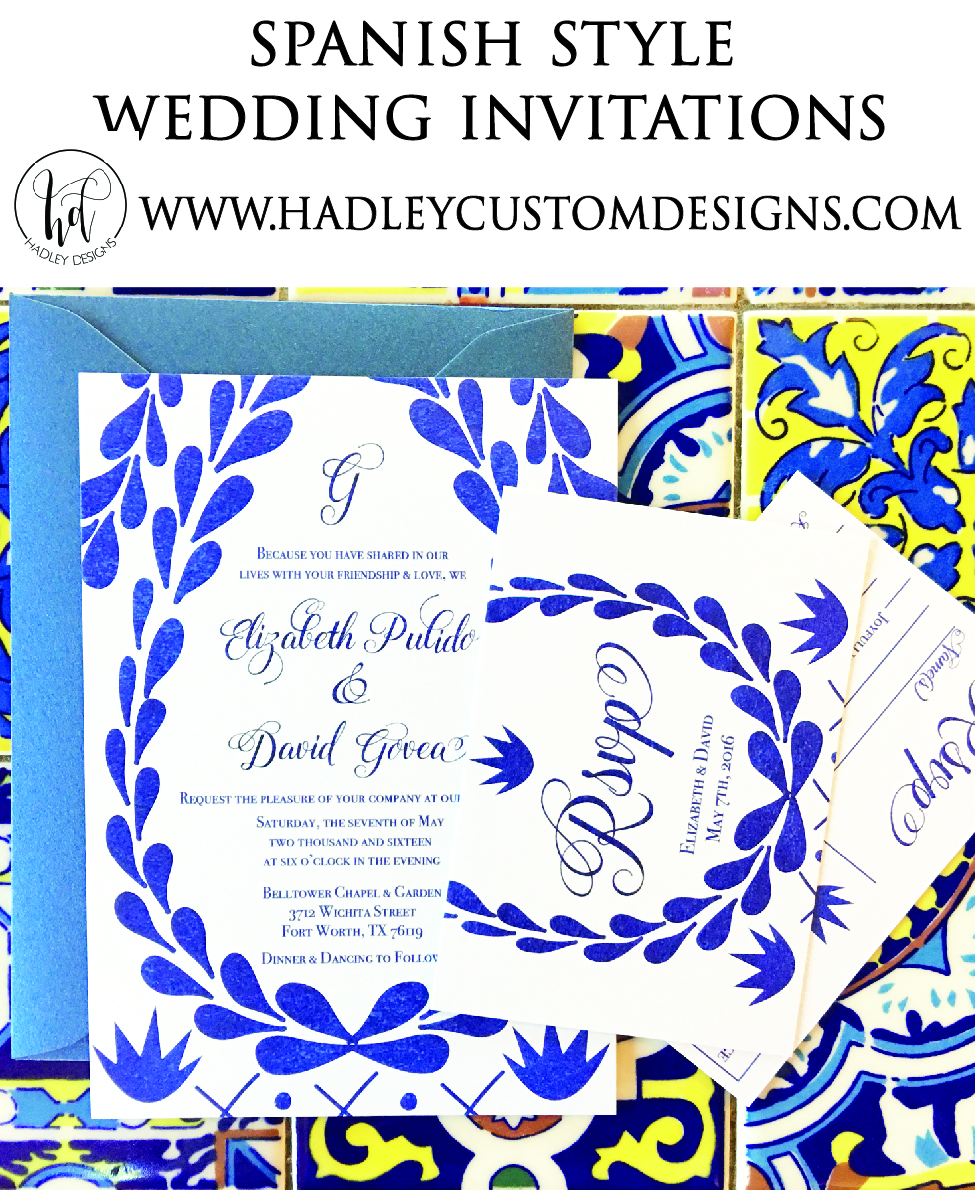 Spanish Wedding Invitations, Elegant Wedding Invitations, Classic Wedding Invitations, Formal Wedding Invitations, Unique Wedding Invitations, Custom Wedding Invitations, Vintage Wedding Invitations