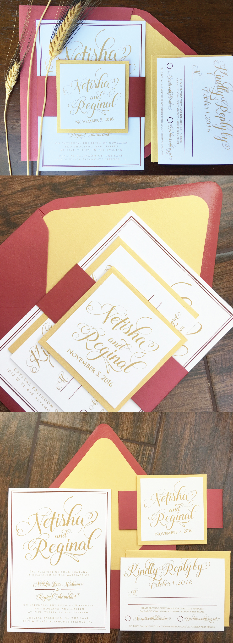 Fall Wedding Invitation, Elegant Wedding Invitations, Classic Wedding Invitations, Formal Wedding Invitations, Traditional Wedding Invitations, Unique Wedding Invitations, Custom Wedding Invitations,