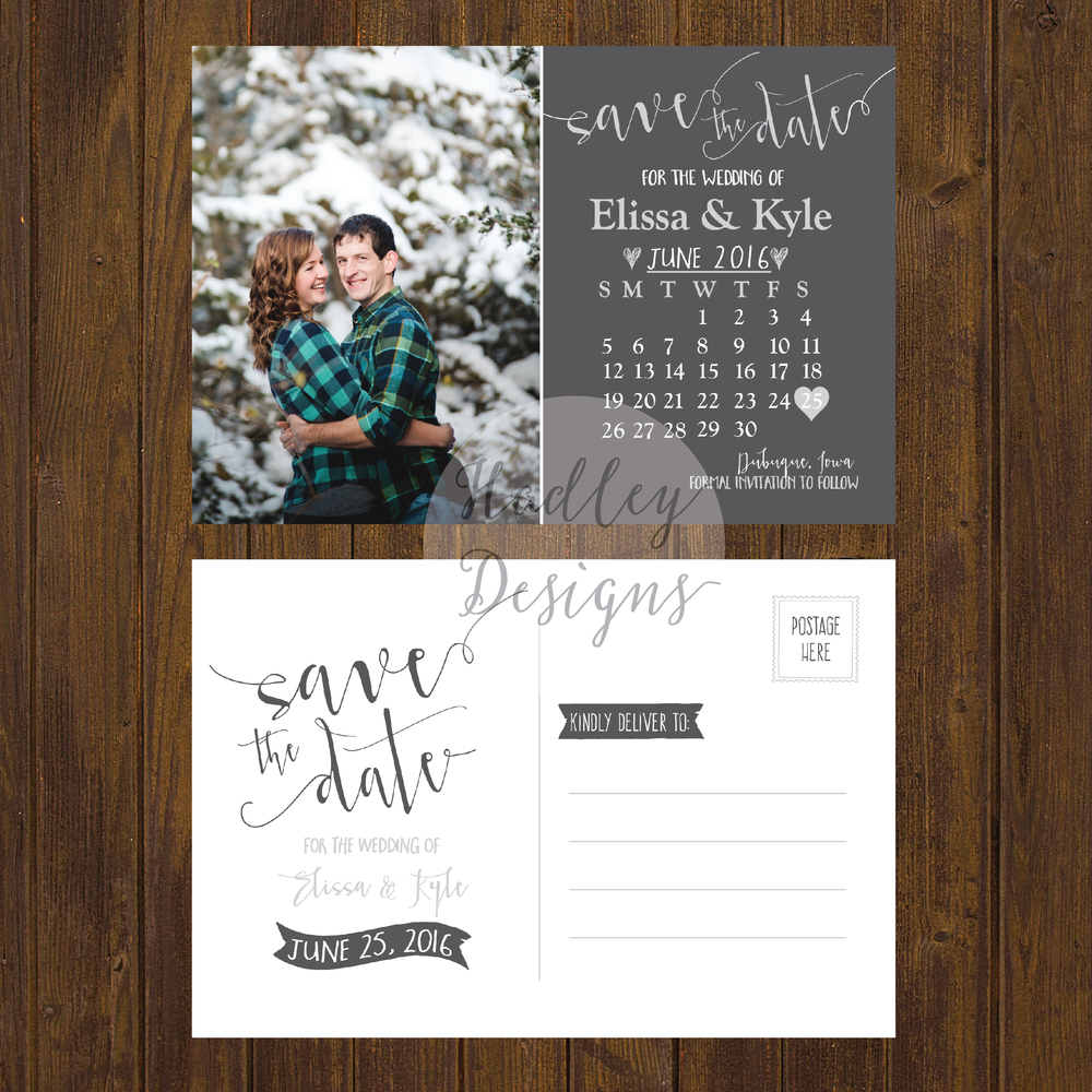 Hadley Designs-Save the Date
