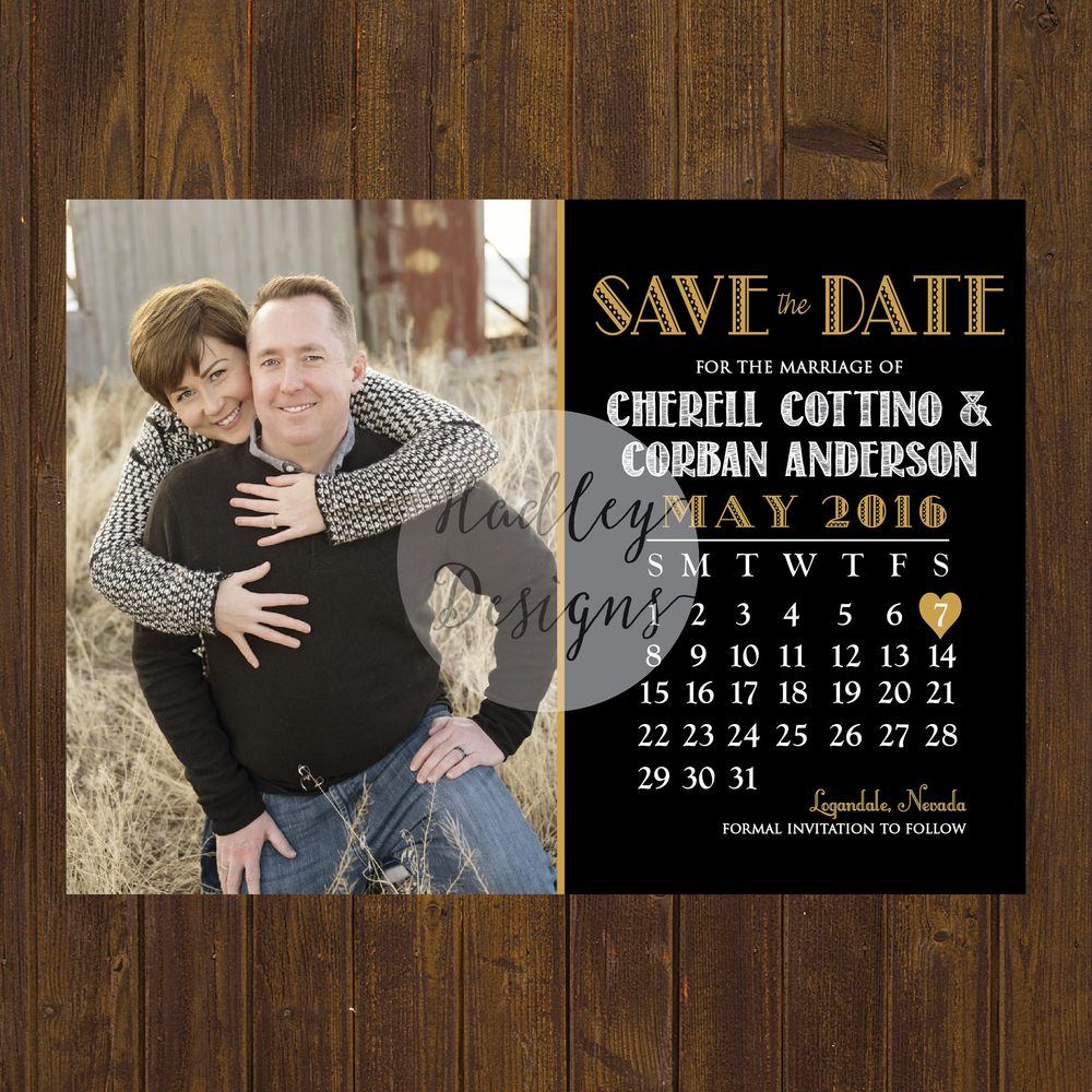 Save the Dates, Wedding Save the Date Cards, Calendar Save the Date, Photo Save the Date, Engagement Photo Save the Date