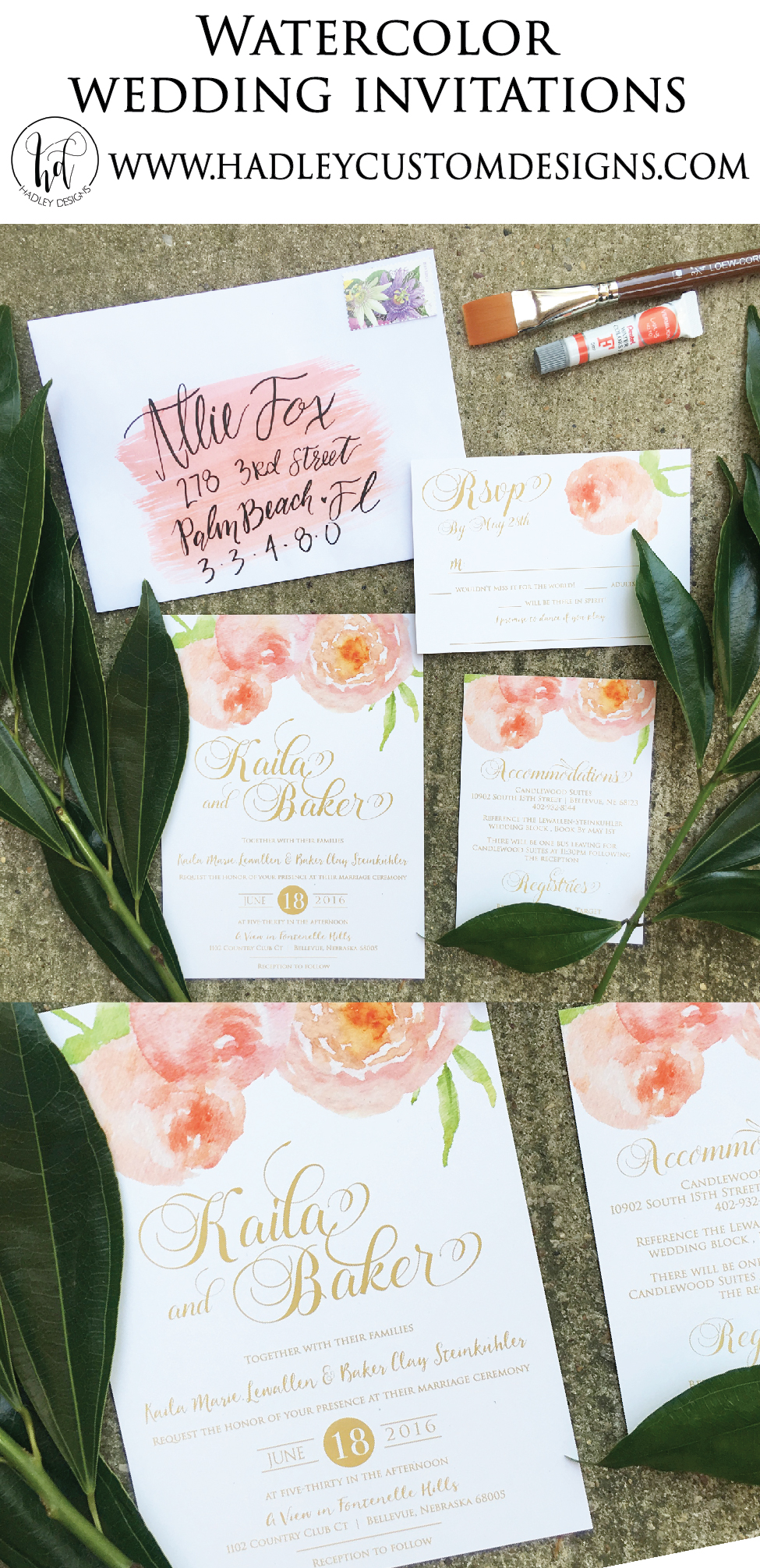 Elegant Wedding Invitations, Classic Wedding Invitations, Calligraphy Wedding Invitations, Formal Wedding Invitations, Traditional Wedding Invitations, Watercolor Wedding Invitations