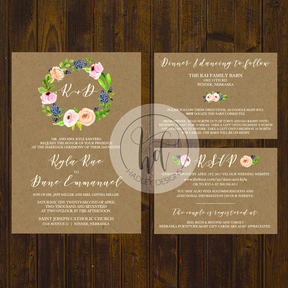 Rustic Wedding Invitations, Country Wedding Invitations, Western Wedding Invitations, Country Rustic Wedding Invitations, Formal Wedding Invitations, Traditional Wedding Invitations