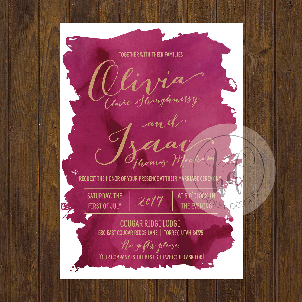 Wedding Invitations Elegant with great invitations template