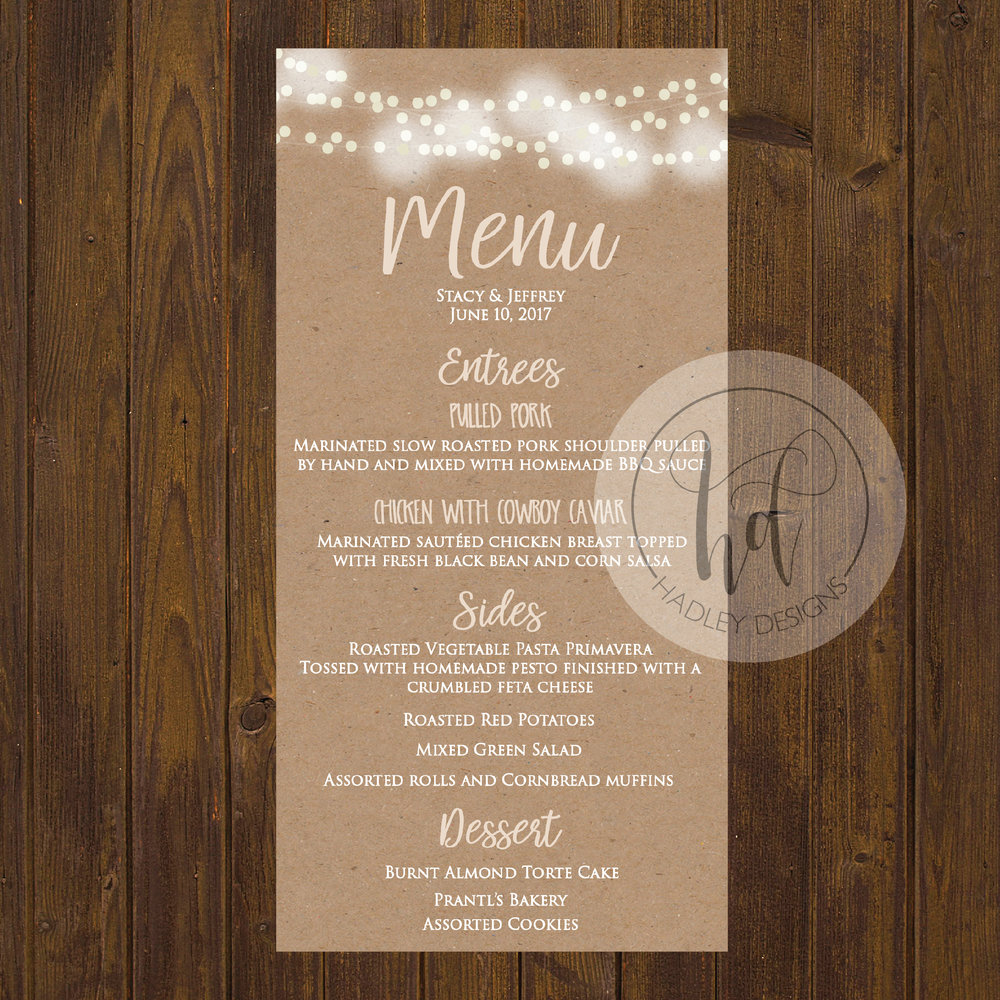 Wedding Menu, Wedding Menus, Wedding Menu Cards, Menu Cards, Wedding Menu Ideas, Wedding Buffet Menu,