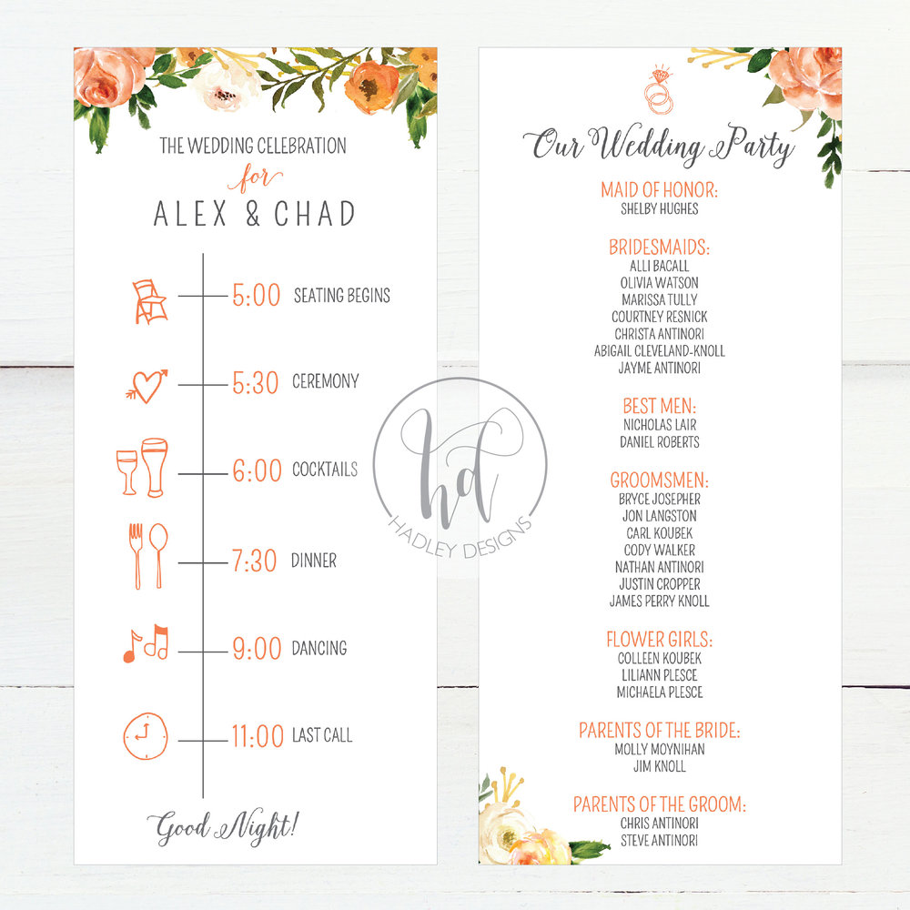 Hadley Designs-Programs
