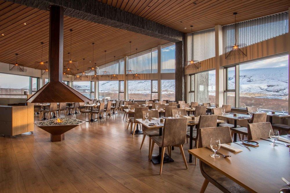 Hotel Husafell - Restaurant
