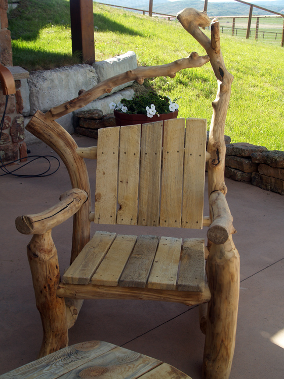 Aspen Lodgepole Adirondack Chair