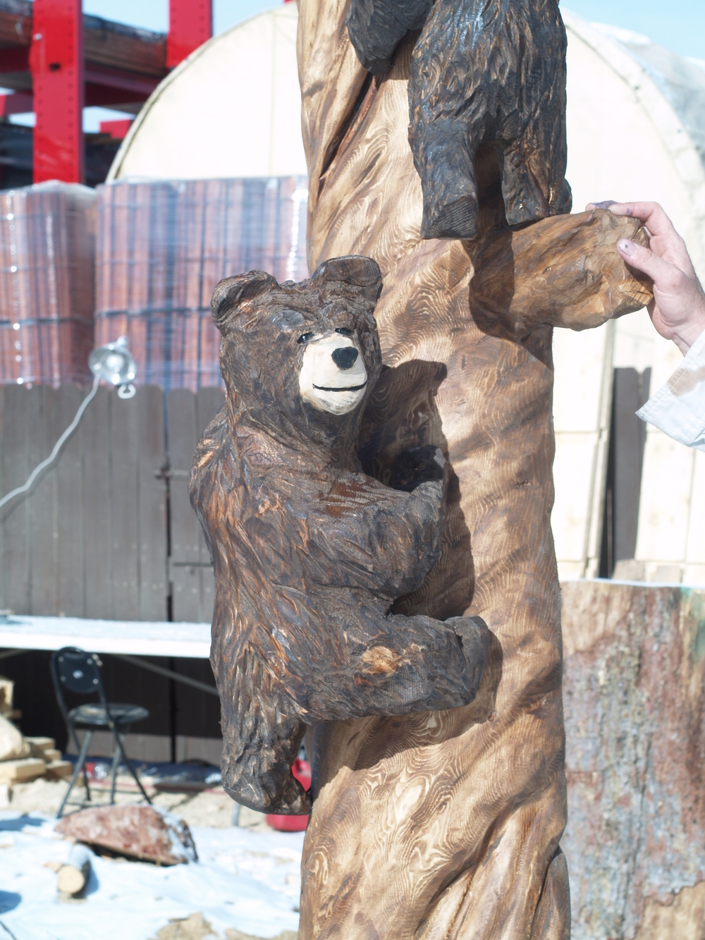 chainsaw-bears-climbing.JPG