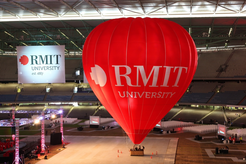 RMIT hot air balloon in stadium.jpeg