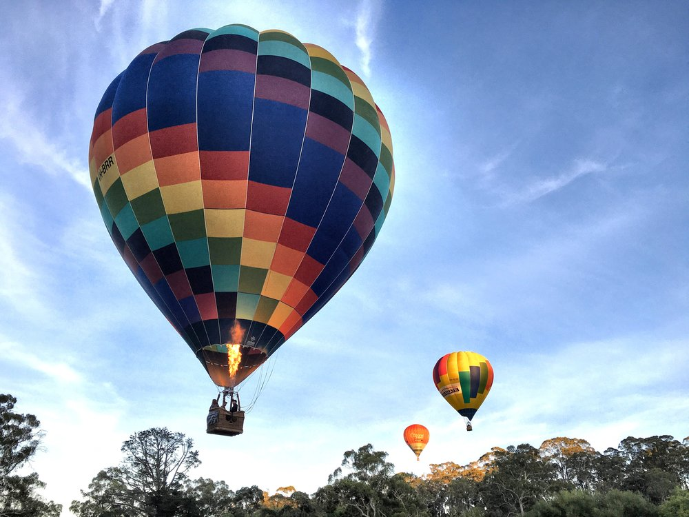 Daylesford hot air balloons.JPG