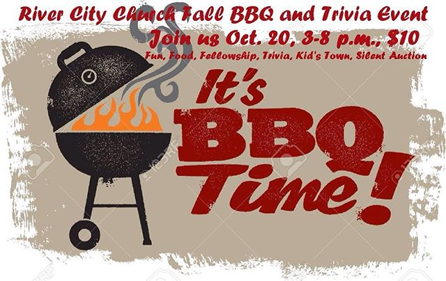 Join us for a fun fall BBQ on October 20th from 3-8 p.m. Bring family and friends! Tickets cost only 10$! See you there! 6906 W. Hwy. 100 Washington, MO 63090