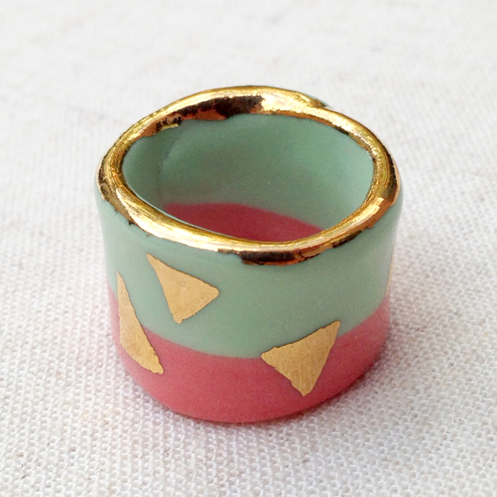 ruby pilven handmade porcelain ring melbourne falling for florin