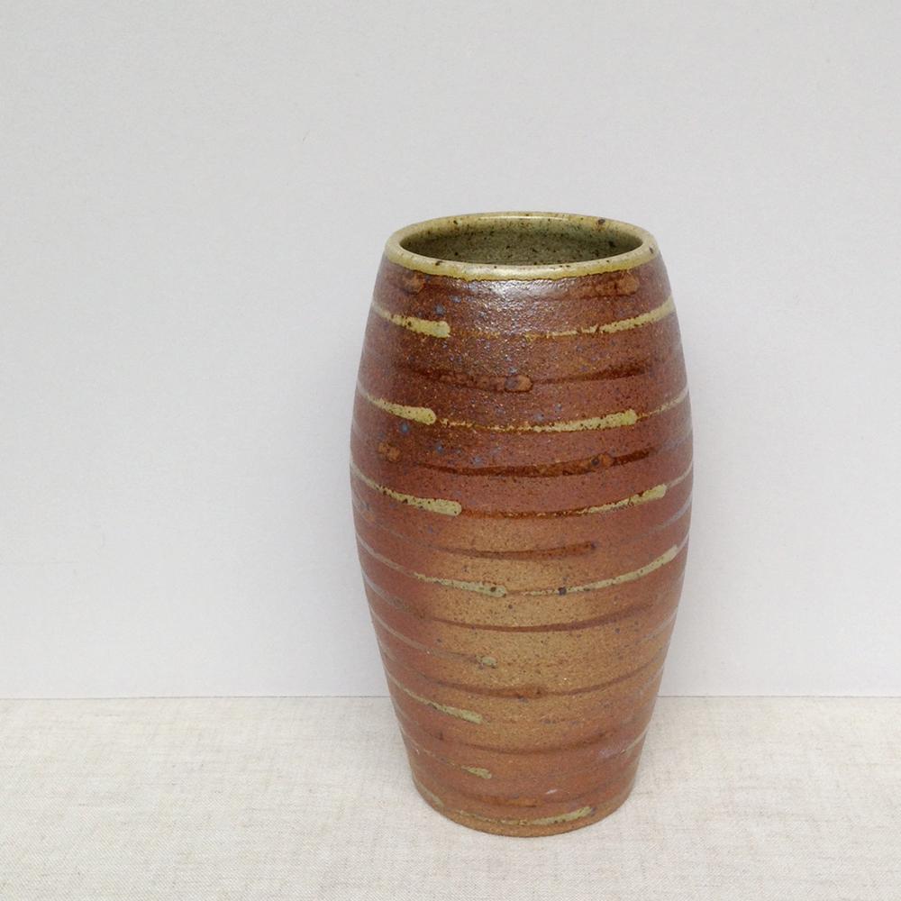 lene jakobsen handmade ceramic vase falling for florin