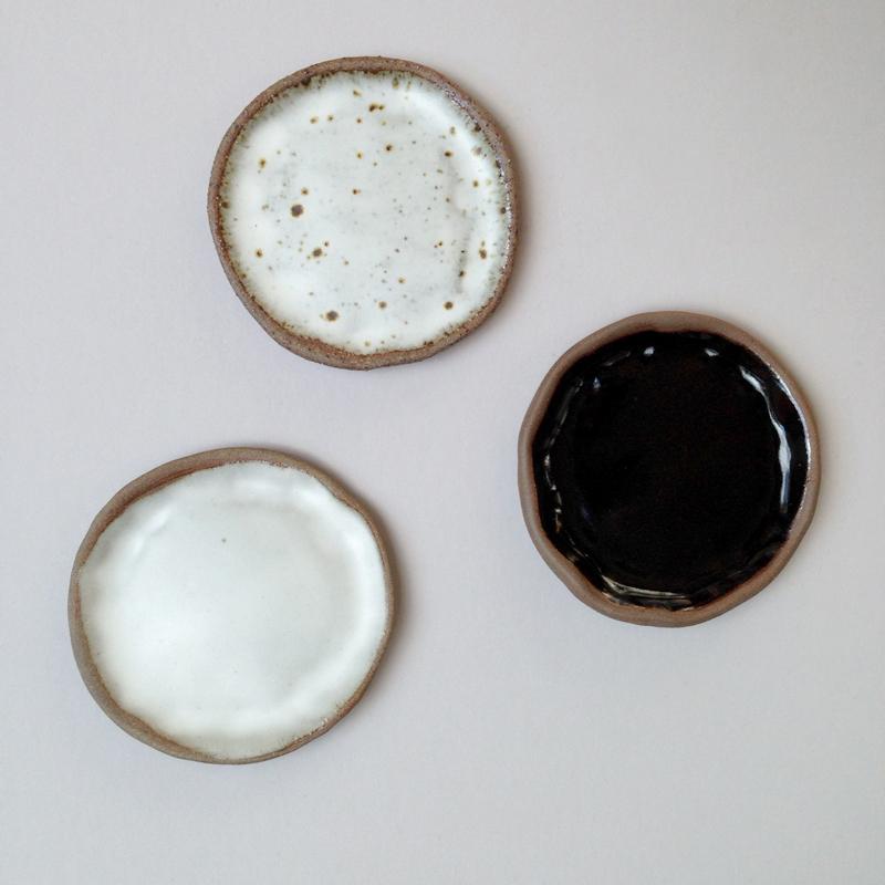 lisa peri handmade ceramic stoneware dish falling for florin