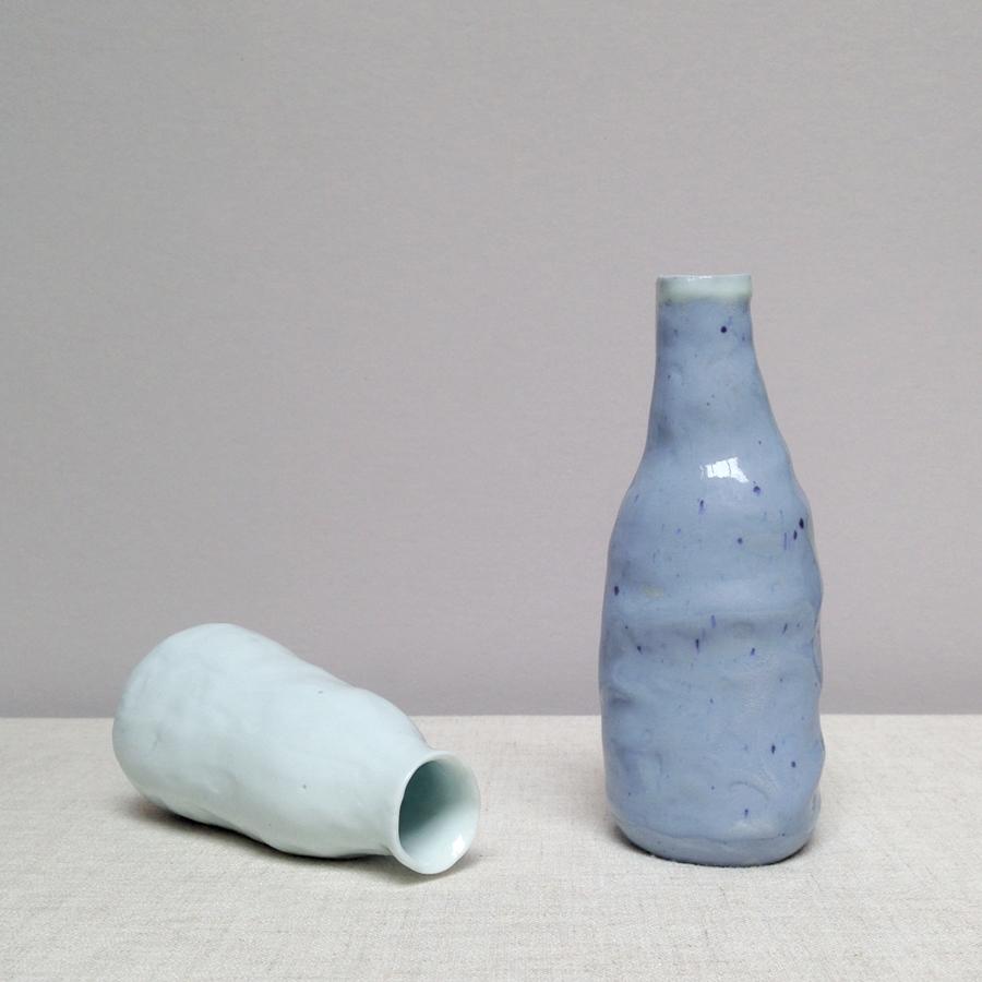 handmade porcelain vessels falling for florin