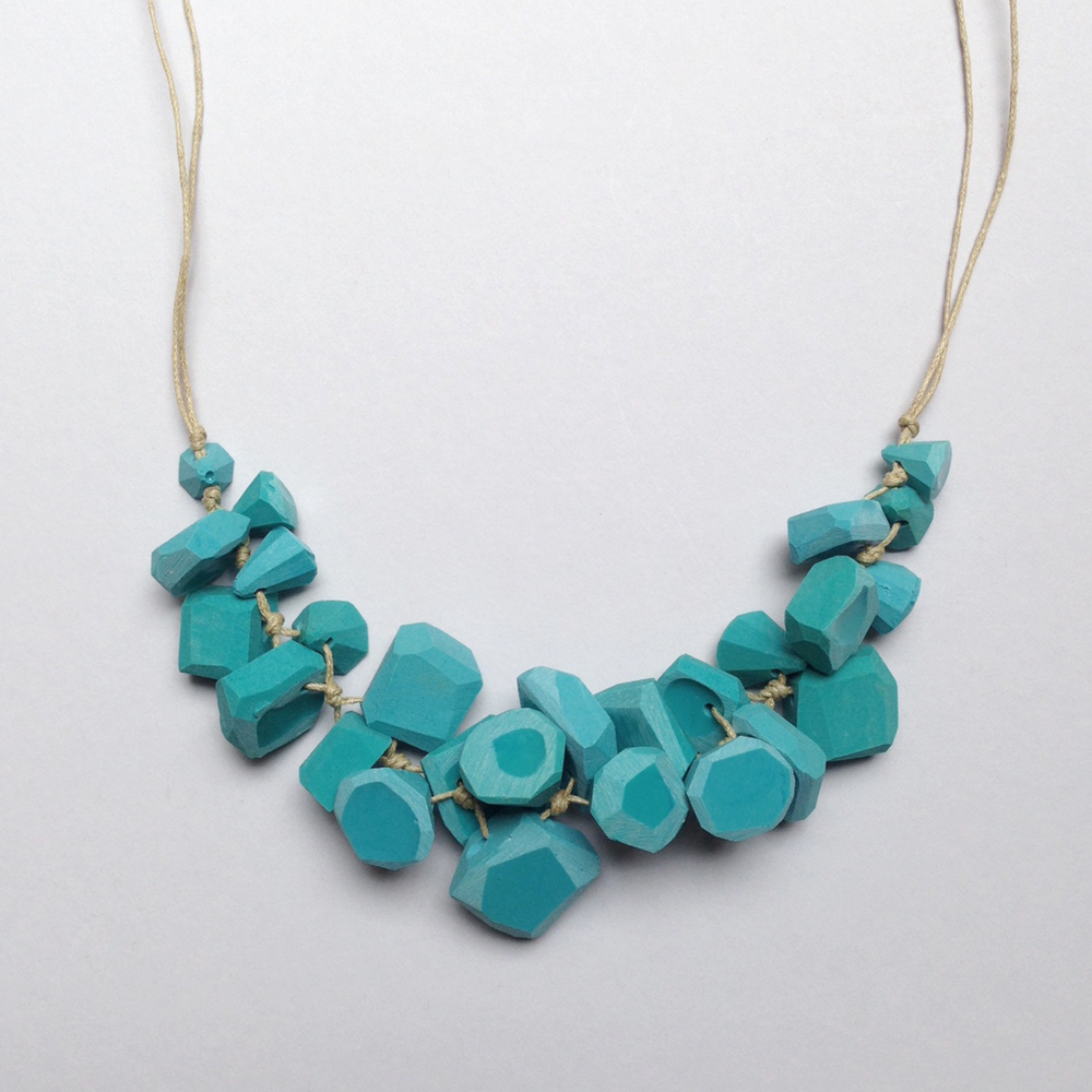 erica sandgren handmade resin necklace falling for florin