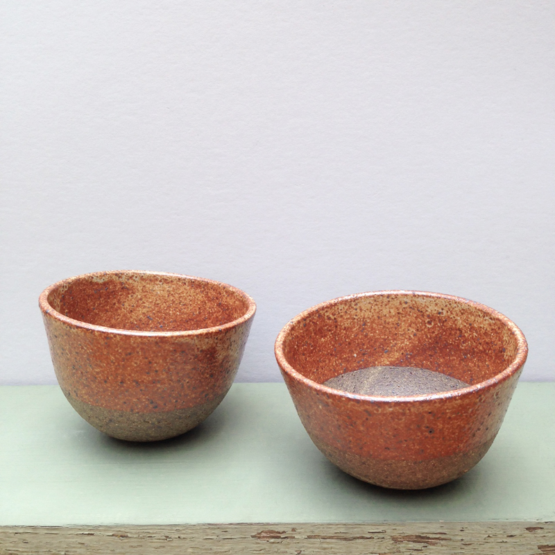 lisa peri handmade stoneware planter falling for florin