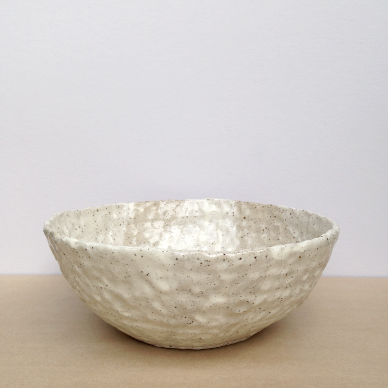 peta armstrong handmade ceramic bowl falling for florin