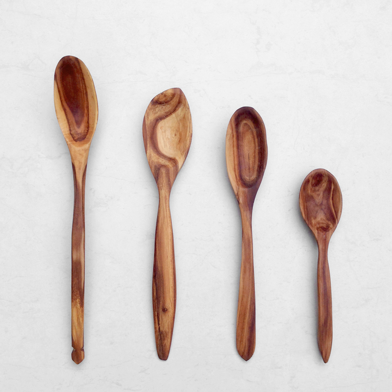handcarved reclaimed apple timber spoons falling for florin