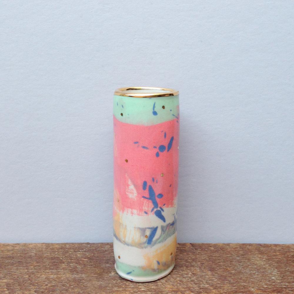 handmade ruby pilven nerikomi vase falling for florin