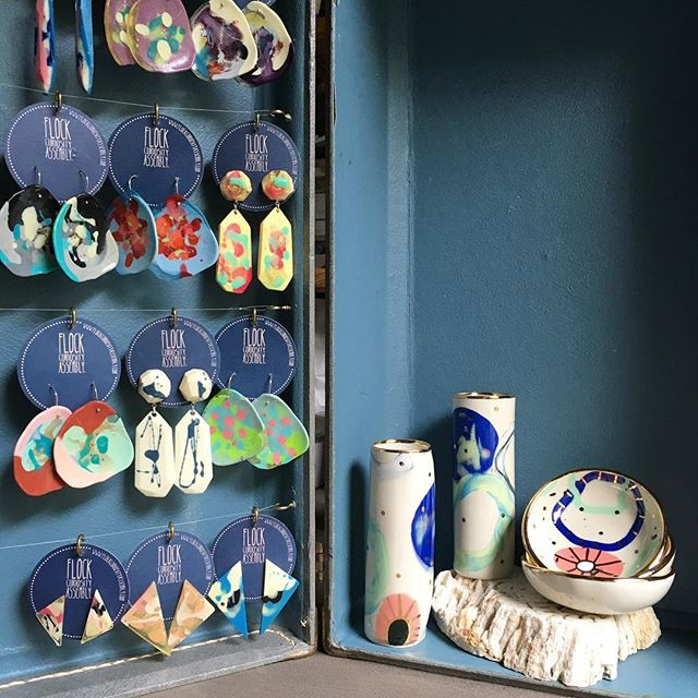 ❣️ A mini pop-up is happening tonight at Shakti { @shaktiyogakeywest } to coincide with their sumptuous Indian dinner 🥘.• Handmade jewellery & ceramics by talented Australian artists ❣️ Escape the cold winter night & join us! • 5pm-7.30 - 1114 White St, Key West ❣️ . . work by @rubypilven_ceramics @sahofflock @elnazceramics @kelaoke ❣️