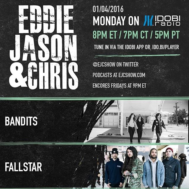 Catch our live interview tonight on idobi.com 6PM! Talking all things Fallstar and weirdness:)