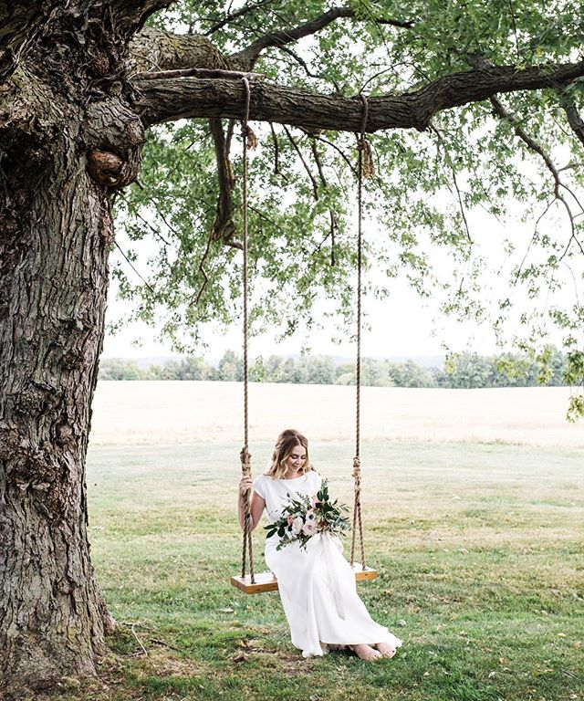 How cute is Marcy on this swing?! Marcy and Craig has the most beautiful wedding day at @dymentsfarm a few weeks ago! So grateful to be know these people and share in this day! #hamilton #hamiltonontario #ontario #hamiltonwedding #lookslikefilm #thatsdarling #portraitphotography #portrait #makeportraits #swing#bride #wedding #weddingdress #weddingphotography #loveauthentic #farm #rustic  #toronto #niagara #exploretocreate #junebugweddings #theknot #greenweddingshoes #stcatharines #barnwedding #summer #niagaraweddingphotographer #adventurealways #lblcollective #canadiancreatives