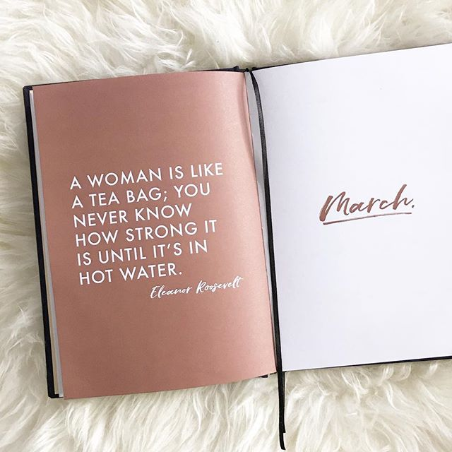 One of my favourite quotes. Happy International Women's Day! 👯♀️
