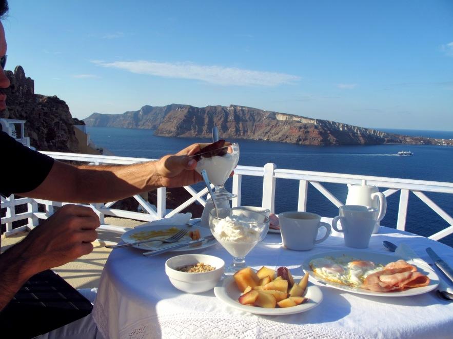 Santorini_Breakfast on the balcony.jpg