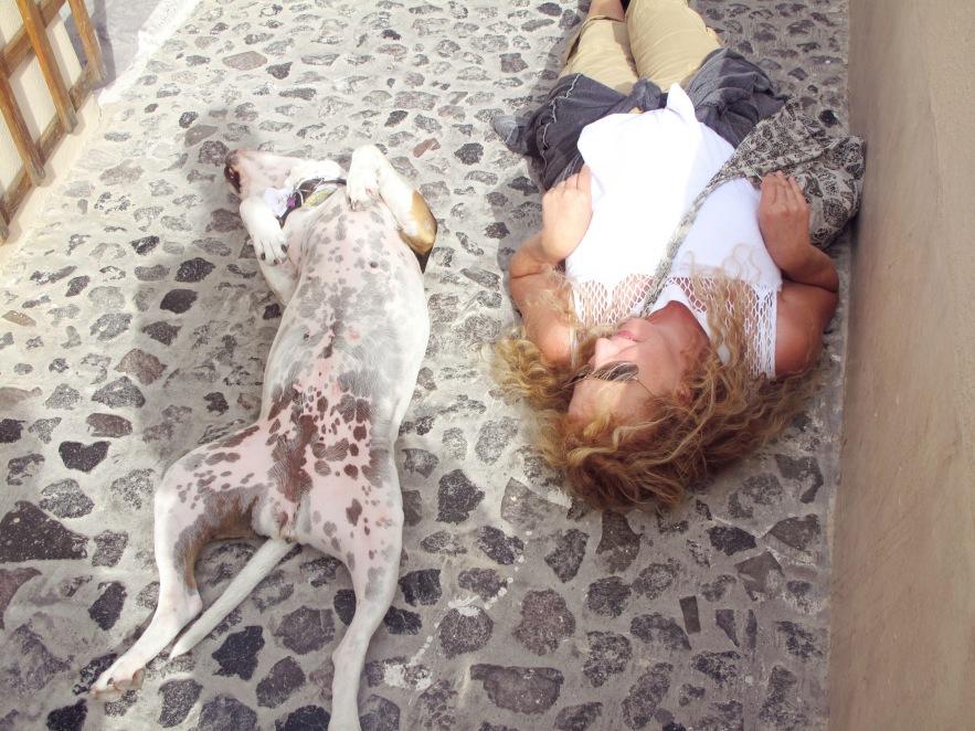 Santorini_Dog_girl_speckled pavement.jpg