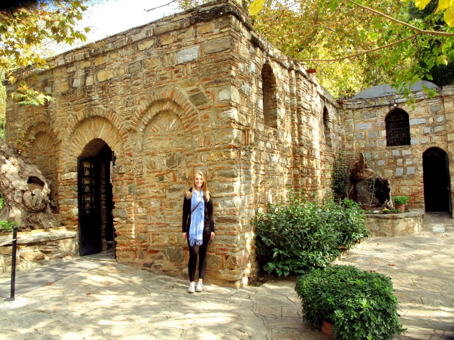 Visiting the believed to beresidence of the virgin mary leading up to her death