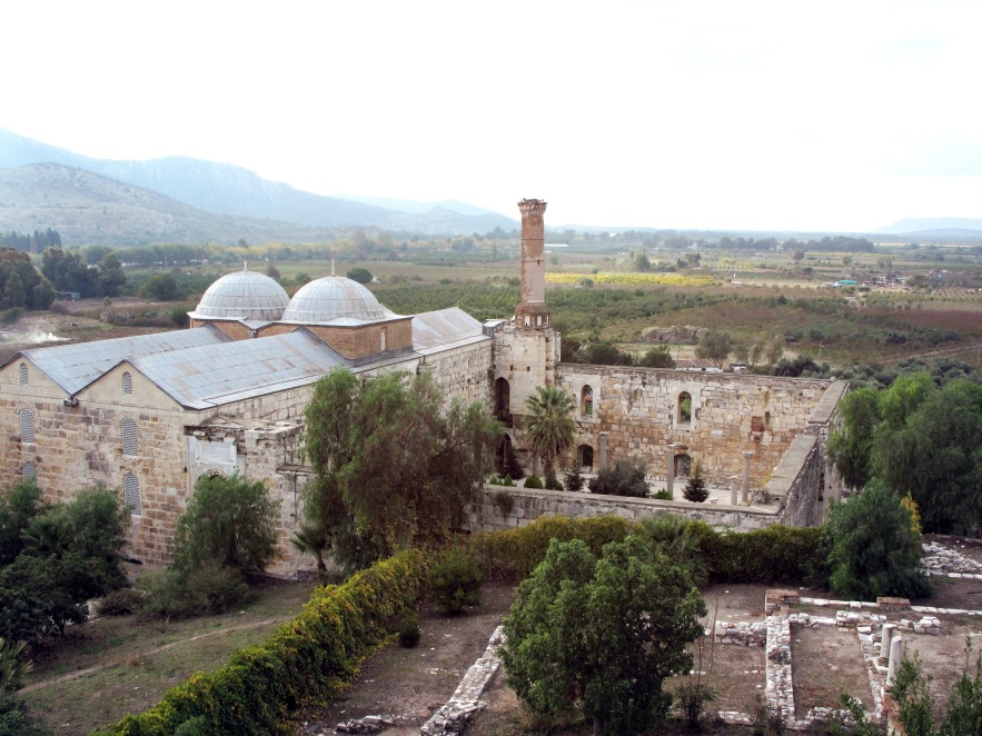 Ephesus_View of Mosque from church.JPG