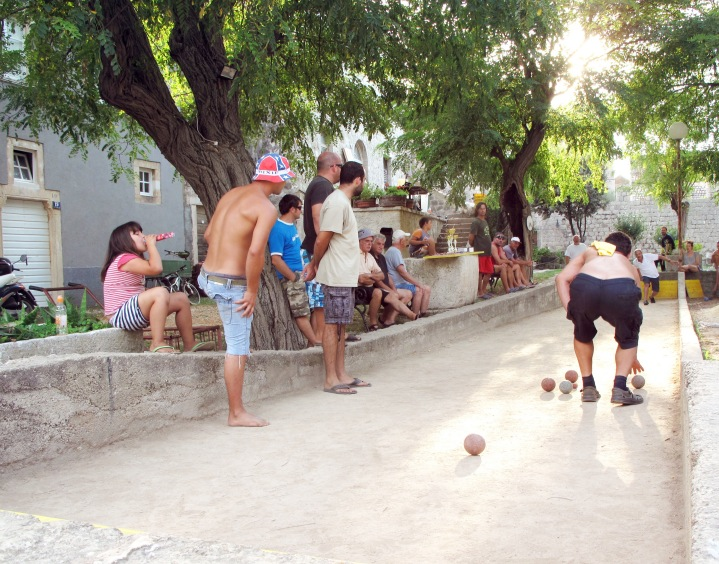 I loved watching the locaLs in the little village play bocce in the square in the afternoons. there was so much cheering and excitement and you could tell that everyone knew each other really well, it was like they were all part of one big family.