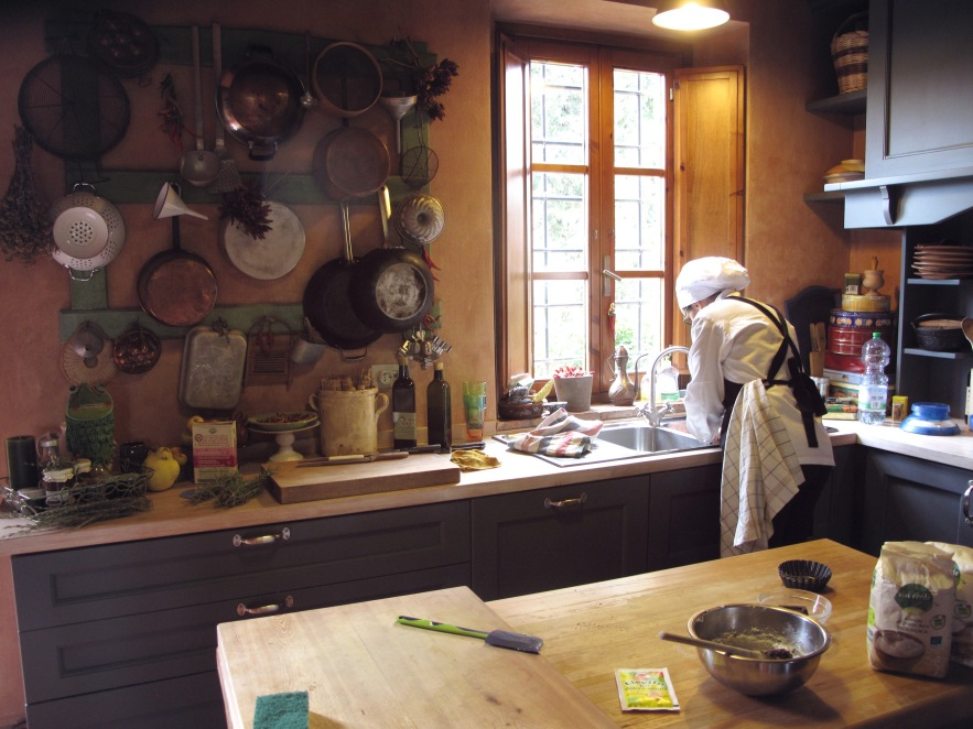 Alovely afternoon spent with Roseanna Pasionne getting a cooking lesson in her beautiful Tuscan kitchen