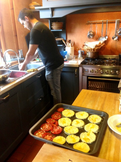Tuscany_cooking lesson_reu_tray of food.JPG